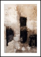 Beige abstract Plakat