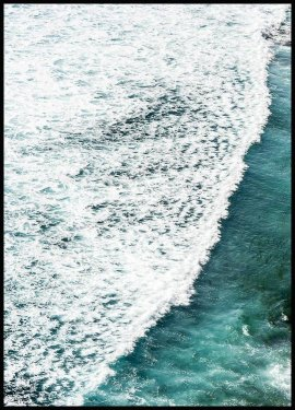Sea Wave Poster