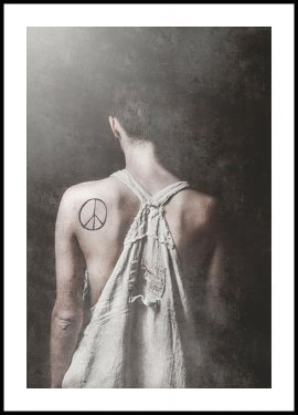 Tove Frank Peace Poster