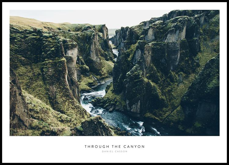 Through the Canyon Poster